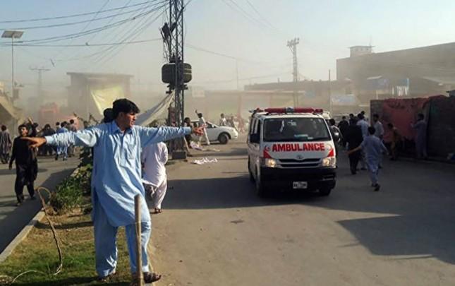 Pakistandakı partlayışda ölü sayı 57-yə çatıb