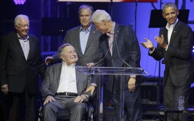 Eks-prezidentlər xeyriyyə konsertində bir arada