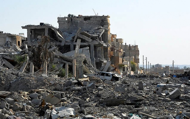 İŞİD Suriya və İraqda nəzarət etdiyi torpaqların 95 faizini itirib
