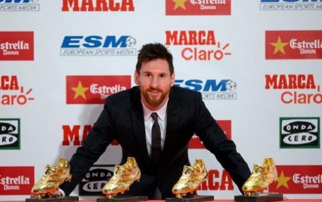Messi mükafatını 6 ay sonra aldı