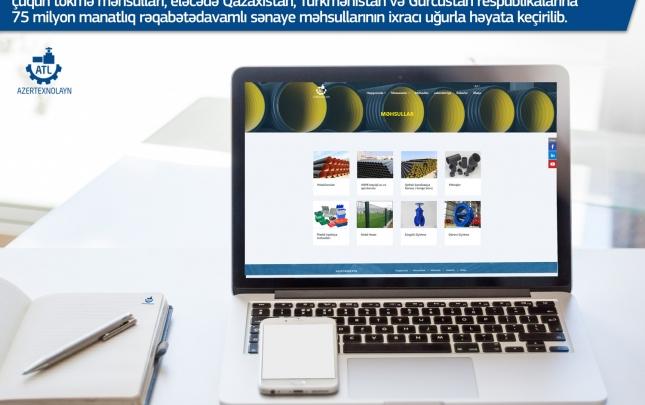 """""""Azertexnolayn"""" yeni ili yeni web səhifə və yeni məhsullarla qarşılayır"""