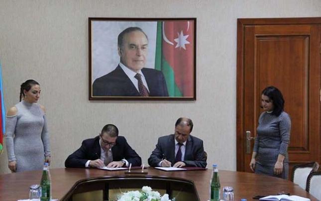 """Nazirliklə """"ABAD"""" arasında memorandum imzalandı"""