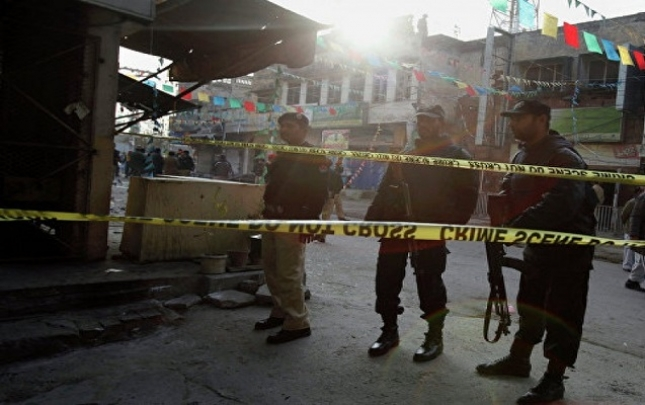 Pakistanda kilsəyə hücum