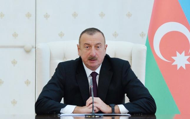 Prezident Xəzərin statusuna dair qanunu imzaladı