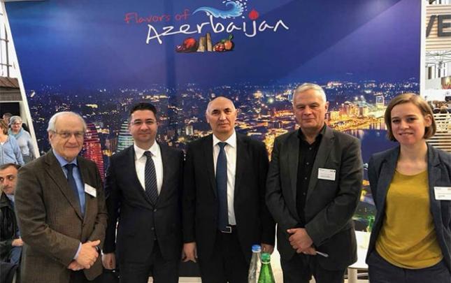 Azərbaycan məhsulları Almaniyada