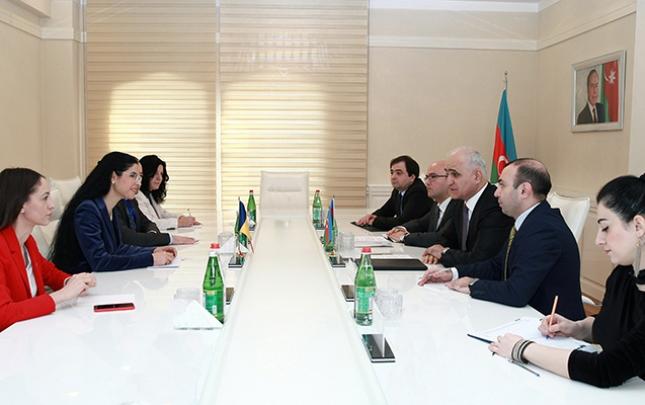 Azərbaycan-Rumıniya iqtisadi əlaqələri müzakirə olunub