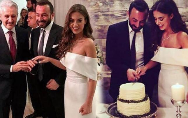 Bensu Soral nişanlandı