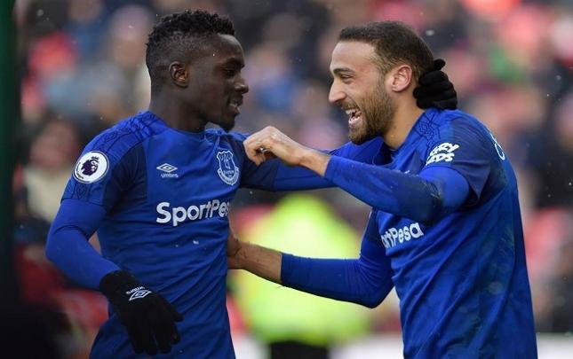"""Cenk Tosun dublla """"Everton""""a qələbə qazandırdı"""
