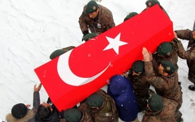 Türkiyə bu gün də şəhid verdi