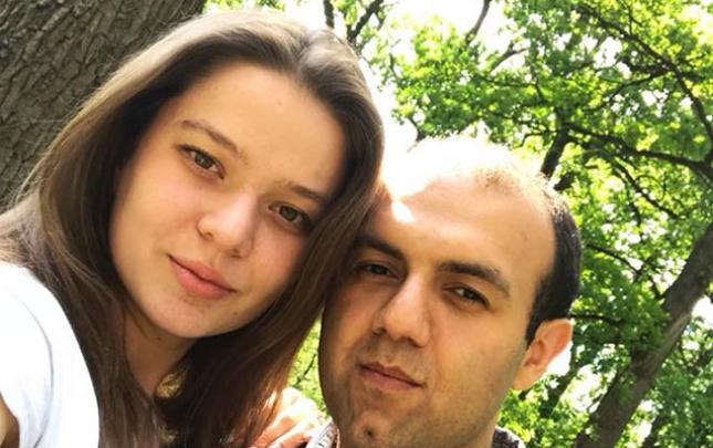 Millimizin üzvü ukraynalı xanımla evlənir