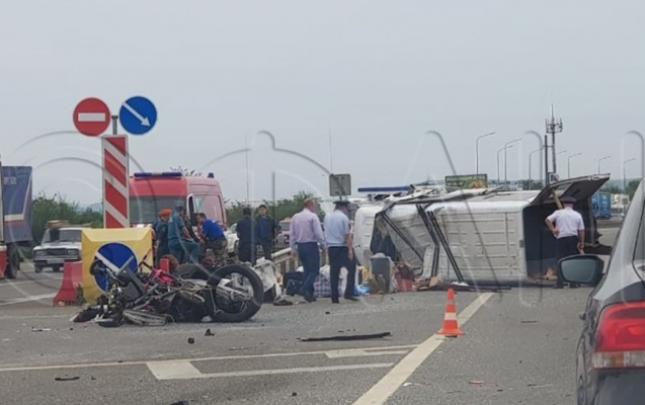Rusiyada azərbaycanlıların olduğu avtobus qəzaya düşdü