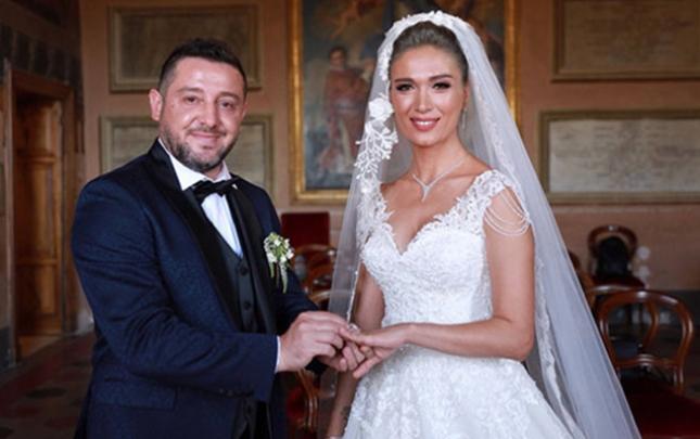 Keçmiş futbolçu Türkiyə gözəli ilə evləndi