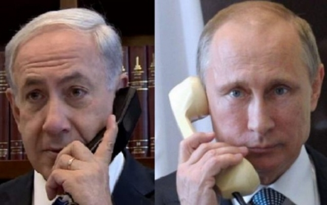 Netanyahu yenə Putinə zəng etdi