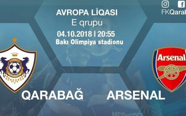 """""""Qarabağ""""- """"Arsenal"""" oyununa 20 min bilet satılıb"""