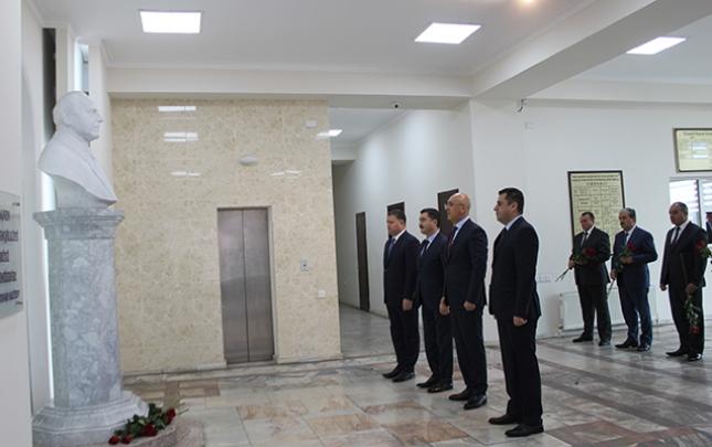 Arif Qasımov məktəblilərlə görüş keçirib