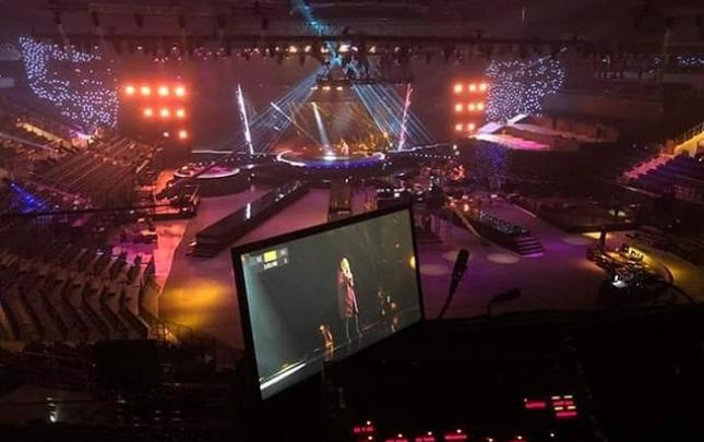 """""""Eurovision""""un səhnəsi hazırdır"""