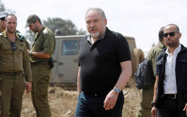 İsrailin Müdafiə naziri Liberman istefa verdi