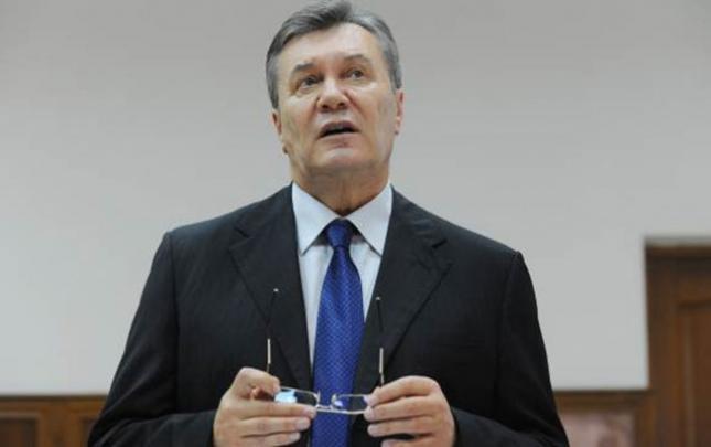 Yanukoviç yıxılaraq travma alıb