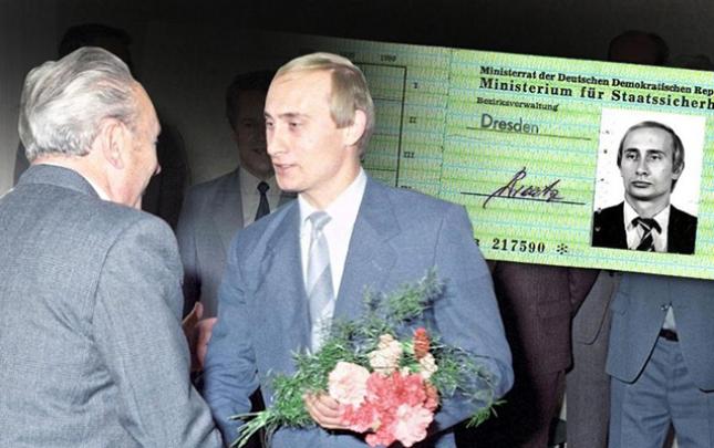 """Putinin """"KQB"""" vəsiqəsi ortaya çıxdı"""
