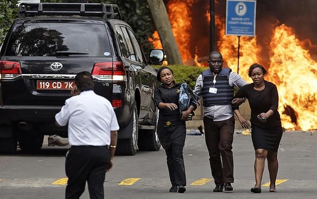 Hoteldə baş verən terrorda ölü sayı 21-ə çatdı