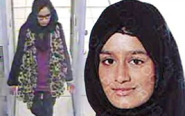 İngiltərə İŞİD-ə qoşulan 19 yaşlı qızı vətəndaşlıqdan çıxarır