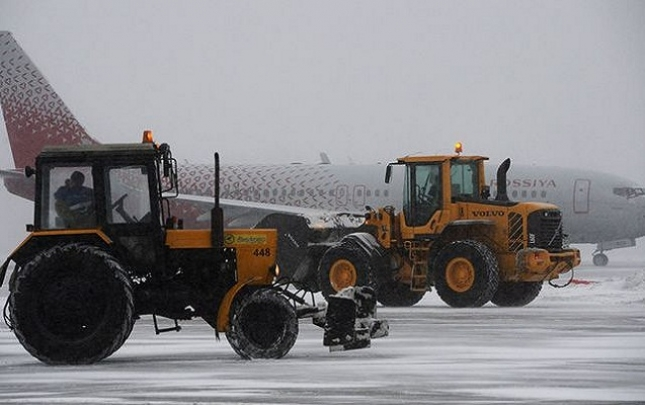 Şaxtalı hava Moskvada hava yolunu iflic edib