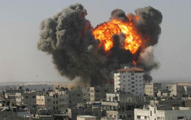 İdlibdə məktəb və xəstəxanalar bombalandı, ölənlər var