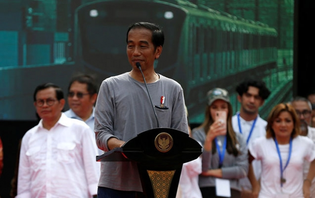 İndoneziyada ilk metro xətti açılıb