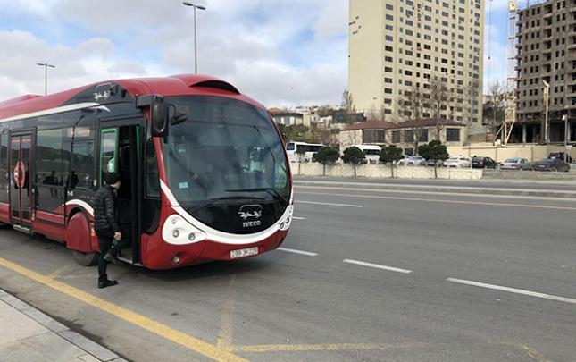 Avtobusların hərəkət sxemi dəyişdirildi
