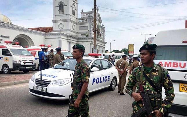 Şri-Lankadakı partlayışlara görə 13 nəfər saxlanıldı