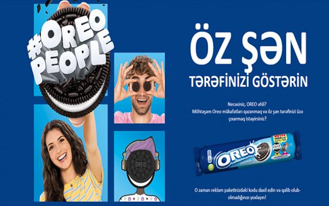"""""""Oreo"""" ilə sən də qazan"""