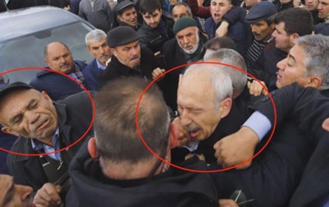 Kılıçdaroğluna yumruq vuran sərbəst buraxıldı