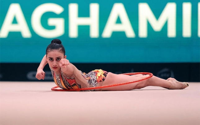 Zöhrə Ağamirova Avropa çempionatının finalına yüksəlib