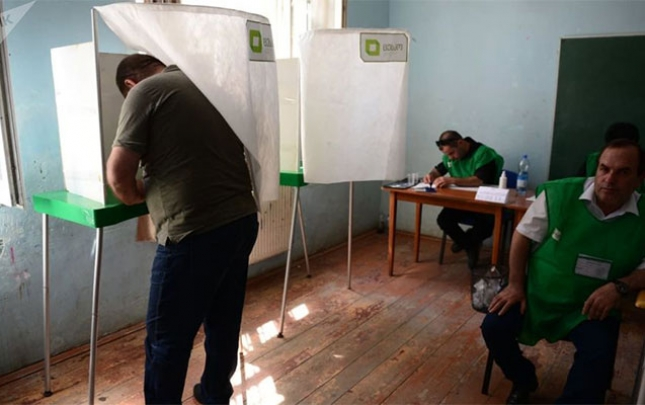Gürcüstanda seçici fəallığı açıqlandı