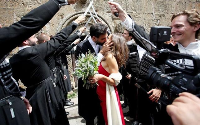 Zurabişvilinin oğlu evləndi