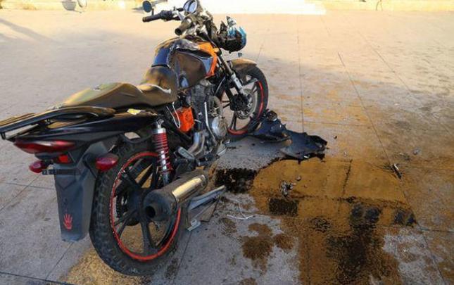 Motosikleti aşırdı, öldü