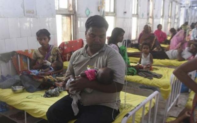 Hindistanda 100-dən çox uşaq beyin iltihabından ölüb