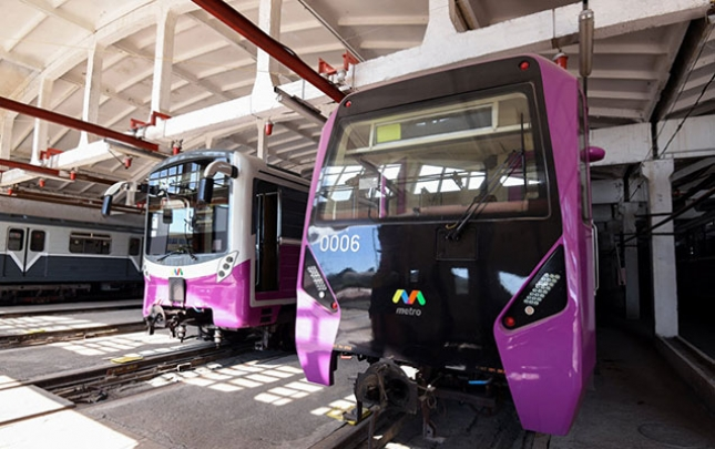 Bakıya yeni metro vaqonları gətirilir