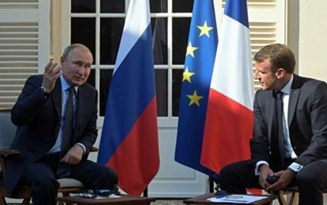 Putin Makronla Qarabağdan danışdı