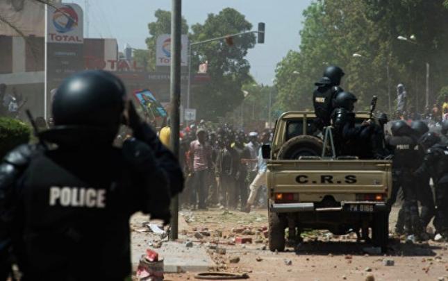 Burkina-Fasoda hərbi bazaya hücum