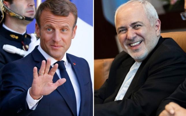 Zərif G7 sammitində Makronla görüşdü