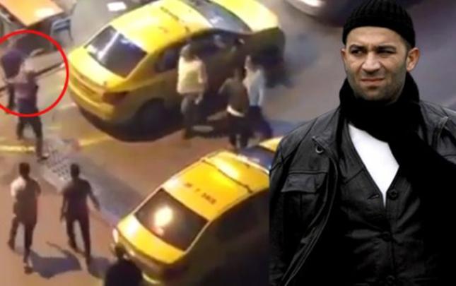 """""""Arka sokaklar""""ın aktyoruna hücumun görüntüləri yayıldı"""