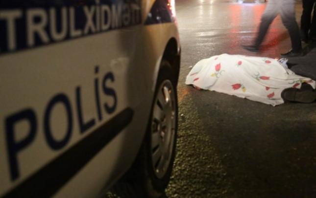 Gəncədə qadını vurub öldürən sürücü hadisə yerindən qaçdı