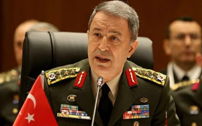 Hulusi Akar NATO-da Türkiyənin Azərbaycanı dəstəklədiyini bildirib