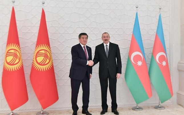 Prezident Jeenbekovla görüşdü