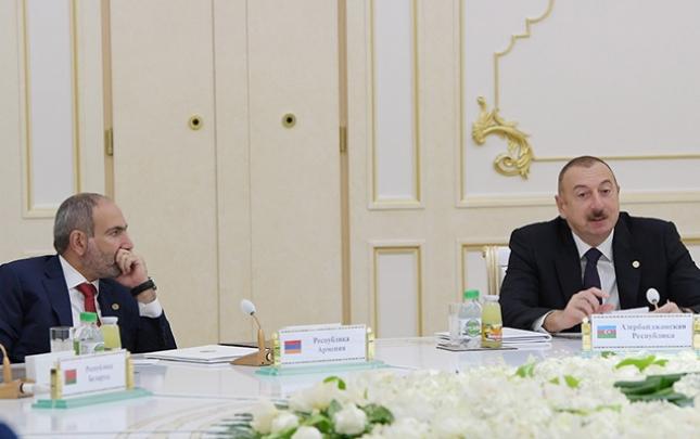 Jurnalistin Əliyev-Paşinyan görüşü haqda sualını belə cavabladı