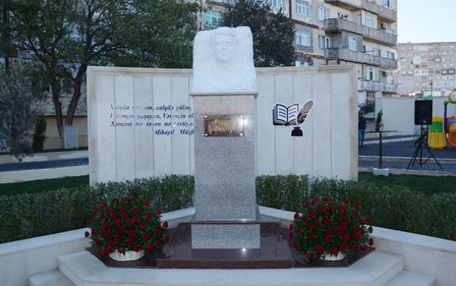 Mikayıl Müşfiq adına park istifadəyə verildi