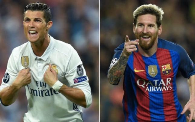 Ronaldo 1-ci, Messi 2-ci oldu
