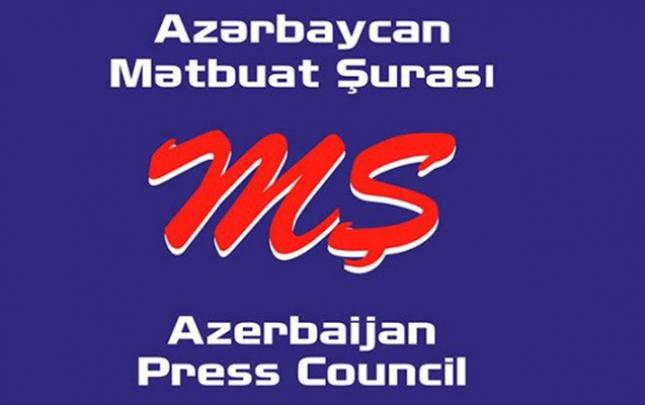Mətbuat Şurasından icazəsiz mitinqə gedən jurnalistlərə