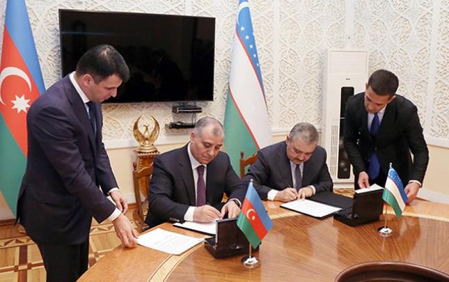 Əli Nağıyev Özbəkistanda saziş imzaladı